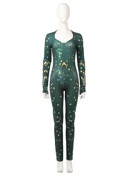 Aquaman 2 Mera Halloween Cosplay Costume