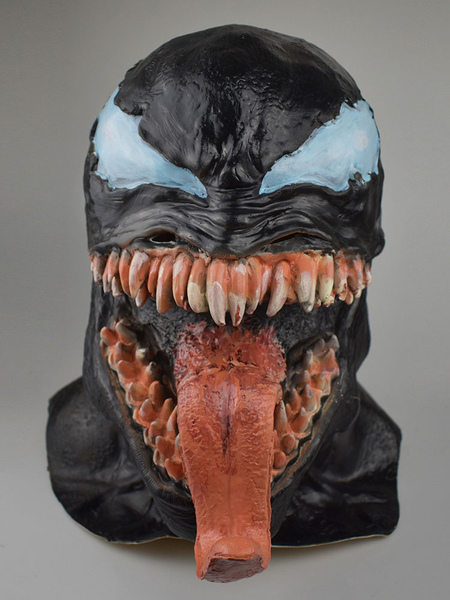 Image of Venom Eddie Brock 2019 Movie Mask Cosplay Accessory