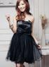 Современные Sweet Black Lace Boob Дамы верхней части пробки платье.