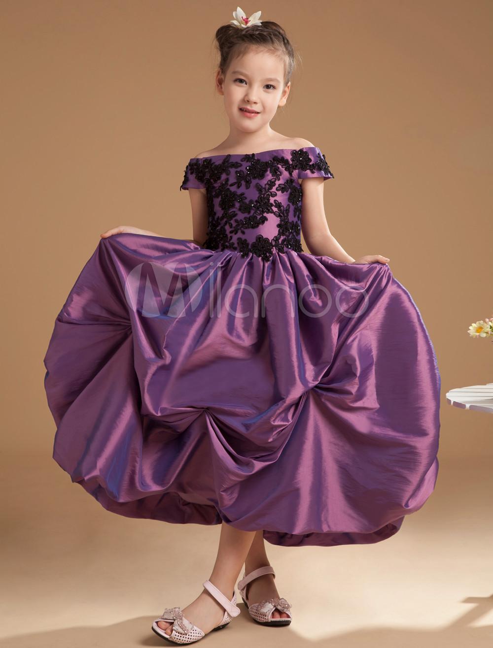 Contemporáneo Vestido De Fiesta Para Los Niños Ideas Ornamento ...