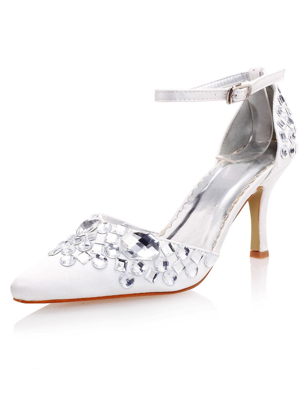 Sapato noiva com strass