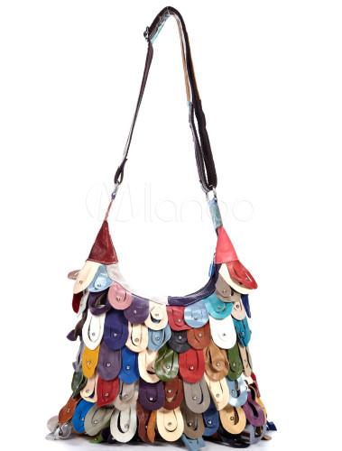borse pelle colorate