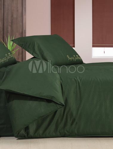 4 pc edred n de seda hermosa cian colcha cubierta del lecho - Edredon de seda ...