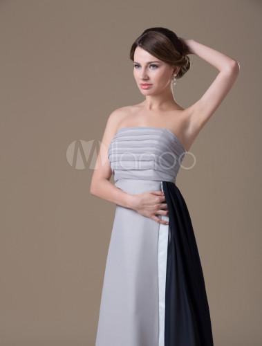 elegantes abendkleid aus chiffon f r schwangere. Black Bedroom Furniture Sets. Home Design Ideas