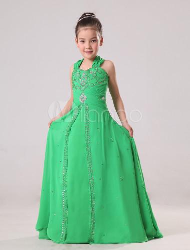 Vestidos color verde jade promocion