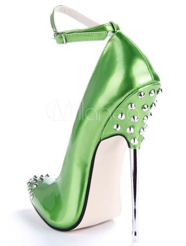 Sexy Green Heels | Fs Heel