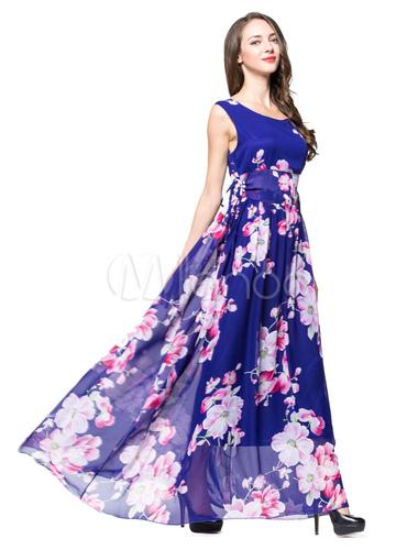 Plus Size sexy langes Kleid