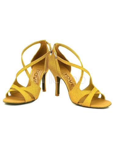 haut talon bout ouvert criss cross de danse noir chaussures femmes personnaliser ballroom shoes. Black Bedroom Furniture Sets. Home Design Ideas