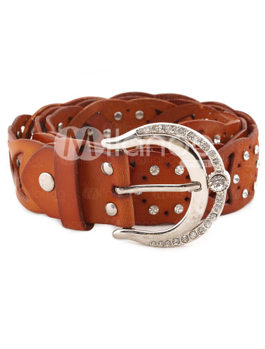 Amazon.com: Fossil Cuff Leather Watch Tan: Fossil: Watches