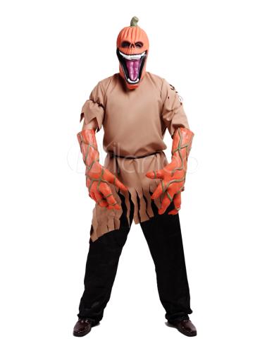 Halloween monstruo traje traje de calabaza terrible - Trajes de calabaza ...