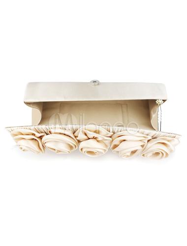 elegante hochzeit handtasche f r die braut in. Black Bedroom Furniture Sets. Home Design Ideas