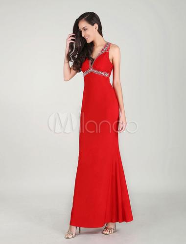 robes de bal rouge robe de soir e robe longue. Black Bedroom Furniture Sets. Home Design Ideas