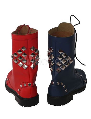 cosplay chaussures harley quinn chaussures. Black Bedroom Furniture Sets. Home Design Ideas