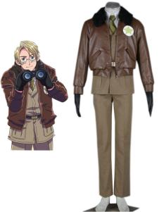 Axis Power Hetalia American Military Uniform Cosplay Costume