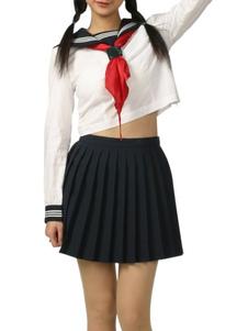 black-white-long-sleeves-school-uniform-cosplay