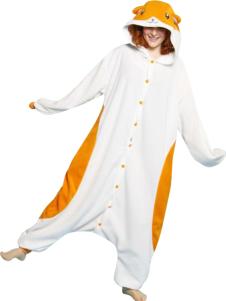 American Hamster Cotton Funny Kigurumi Costume