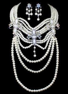 elegant-tassel-eleven-layer-rhinestone-pearls-prom-jewelry-set