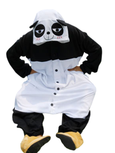 Kigurumi Pajamas Kung Fu Panda Onesie For Adult Animal Costume