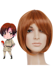 Image For Parrucche da 30 cm per cosplay di Axis Powers Hetalia di South Italy Lovino Vargas