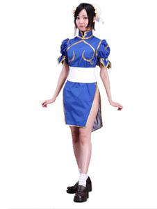 Costume Cosplay de Chunli dans Street Fighter Halloween