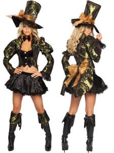 Alluring Acrylic Womens Fantasy Costume