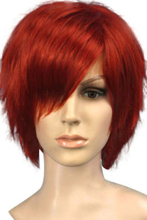 red-brown-35cm-womens-short-cosplay-wig