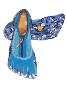 trendy-blue-pu-mesh-rubber-sole-womens-fivefinger-shoes