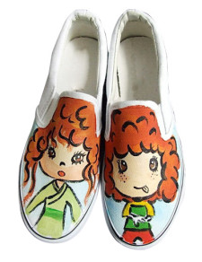 orange-canvas-womens-painted-shoes