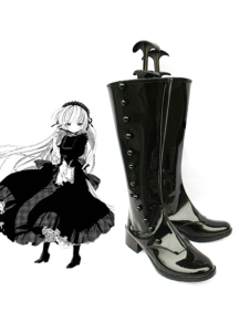 Black 2 Heel GOSICK Victoria Faux Leather Cosplay Shoes