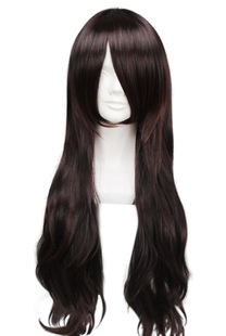 Light Burgundy 75cm Jersey Shore Nicole Polizzi Snooki High Temperature Resistant Fiber Cosplay Wig