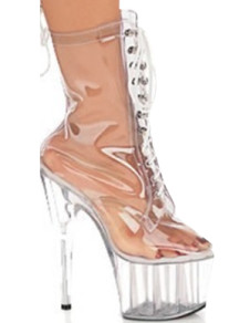Transparent 5 710 High Heel 1 710 Platform Patent Leather Womens Sexy Boots