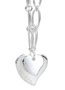 Ficha de Nami Fashion-Silver-Heart-shaped-Necklace-For-Women-51225-1
