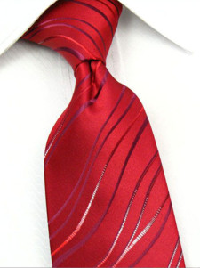 red-flower-polyester-woven-mens-tie