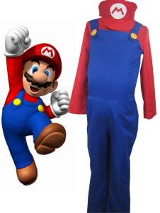 Super Mario Bros Mario Cosplay Costume