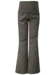 Cosy Army Green 100 Cotton Maternity Trousers