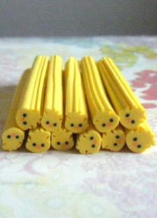 Cute Yellow Animal Nail Stickers