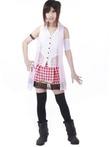Final Fantasy XIII Serah Cosplay Costume