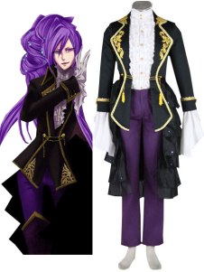 Modern Vocaloid Holy Wrath 65 Cotton 35 Polyester Mens Cosplay Costume Outfit