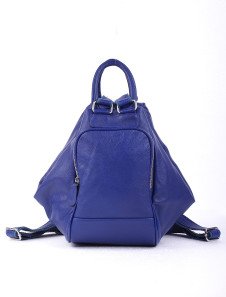 32*23*33cm Beautiful Blue Cowhide Womens Convertible Bag