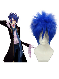 Image For Vocaloid Kaito Cosplay Wig Nylon Blu cm 35