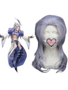 Image For Viola Chiaro 65 centimetri Final Fantasy IX Kuja Nylon Wig Cosplay