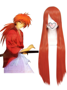 Image For Orange Bleach Cosplay Wig 80 centimetri di nylon