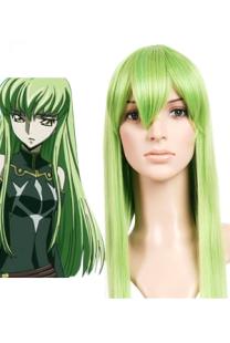 Image For Parrucche verdi per cosplay di Code Geass di C.C da 80cm