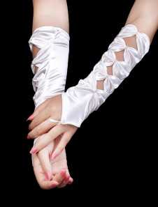 best-ivory-satin-beaded-wedding-gloves-for-brides