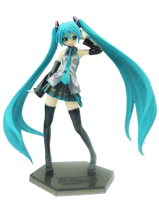 Lovely VOCALOID Miku PVC Anime Action Figure