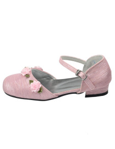 sweet-satin-face-flowers-decoration-ankle-strap-flower-girl-shoes