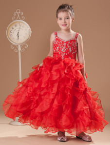 romantic-read-organza-sweet-heart-floor-length-little-girls-dress