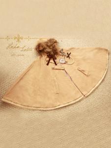 Cloak Design Furry Hoodie Wool Lolita Overcoat