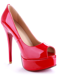 brilliant-claret-4-34-high-heel-45-platform-pu-womens-peep-toe-shoes