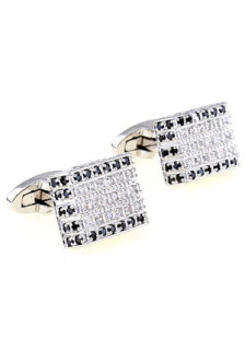 silver-luxurious-square-zircon-brass-plating-platinum-cuff-links